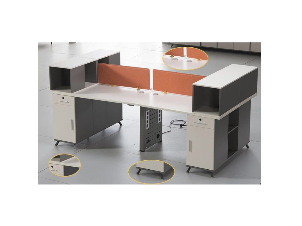 Hot selling t shaped 2 person office desk buy t shaped 2 person office desk double office desk - Two person office desk ...