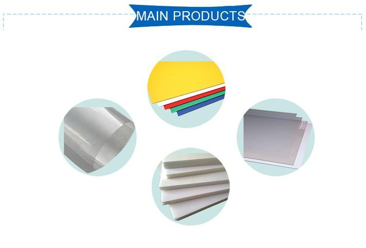 Film 0 5mm Thick Transparent Pvc Rigid Plastic Boards
