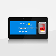 Android portable biometric scanner fingerprint recognition time attendance system with wifi, GPRS, 3G, bluetooth
