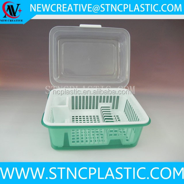 Clear Plastic Cutlery Storage Holder With Lid And Tray Buy Cutlery