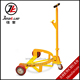 2016 Newest Capacity 500kg Ultra Low Type Mechanical Oil Drum Trolley