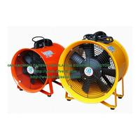 "Industrial Portable Axial Exhaust Blower Ventilation Fan Duct Fan 12"" 300mm 220V 50/60HZ"