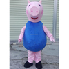 Custom Adult Cartoon Character Pink Pigs cartoon character Mascot Costume for sale