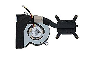 Nbparts NEW for Lenovo ThinkPad X120/e E10 E11 CPU Cooling Fan & Heatsink FRU 04W1380