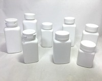 90cc-250cc, HDPE pill bottle with seal, medicine containers