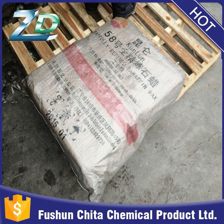 Kunlun Brand Fully-refined Slab Paraffin Wax 58-60 From Fushun  Petrochemical Company - Buy Kunlun Brand Paraffin Wax,Full Refined Paraffin  Wax 58-60