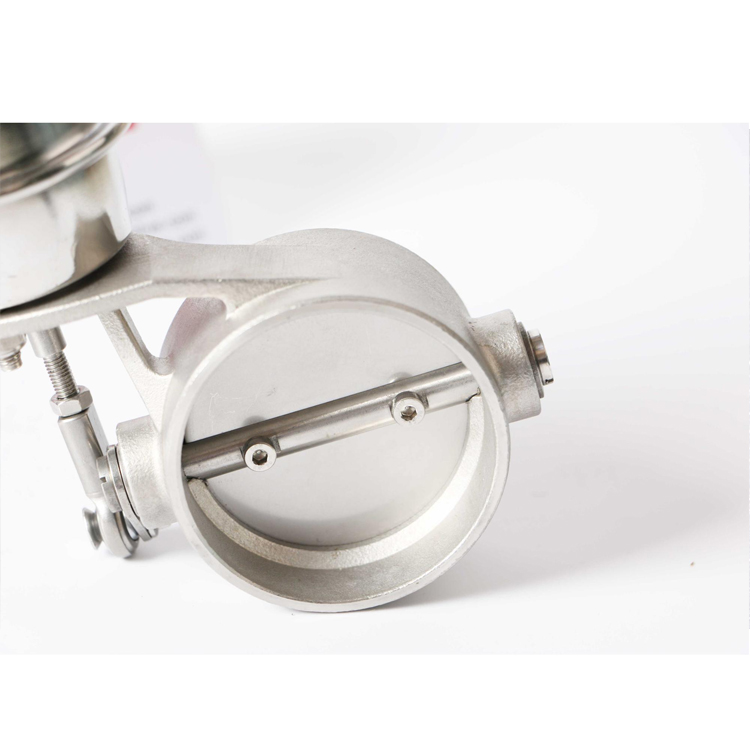 GRWA High Quality Auto Parts Stainless Steel Exhaust Vacuum Valve