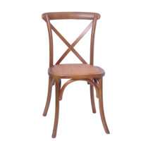 High Quality Stackable Bentwood Wedding Event Cross Back Chair