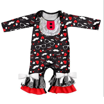 7f98f112a Infant Girl Open-seat Cute Onesie Cotton Baby Green Clover Pattern ...