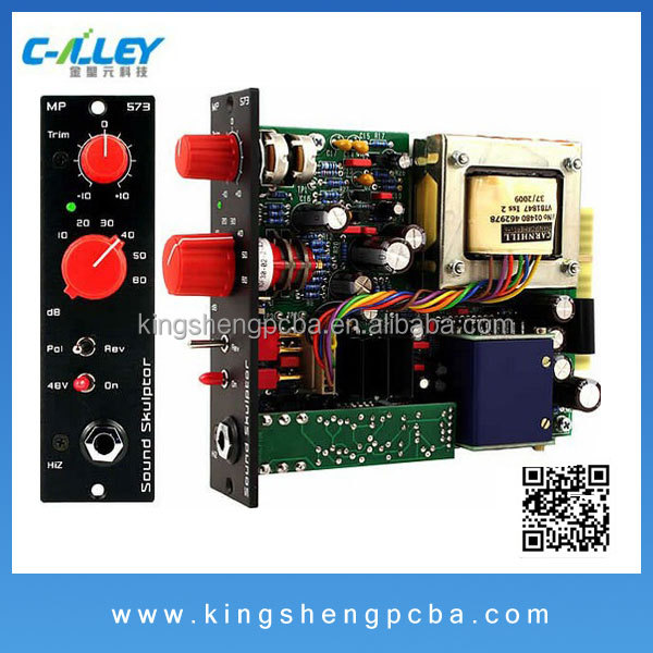Car audio system electronic board montage service