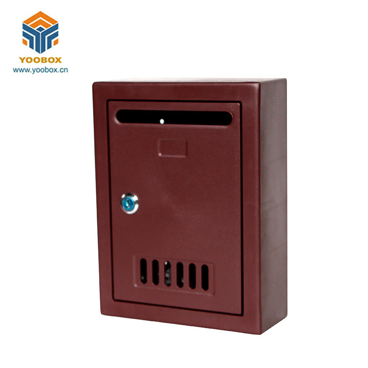 Waterproof Plastic Wall Mount Locking Newspaper Mini Us Mailbox