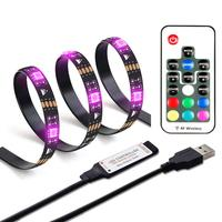 Waterproof SMD5050 RGB led USB strip light TV back lighting kit