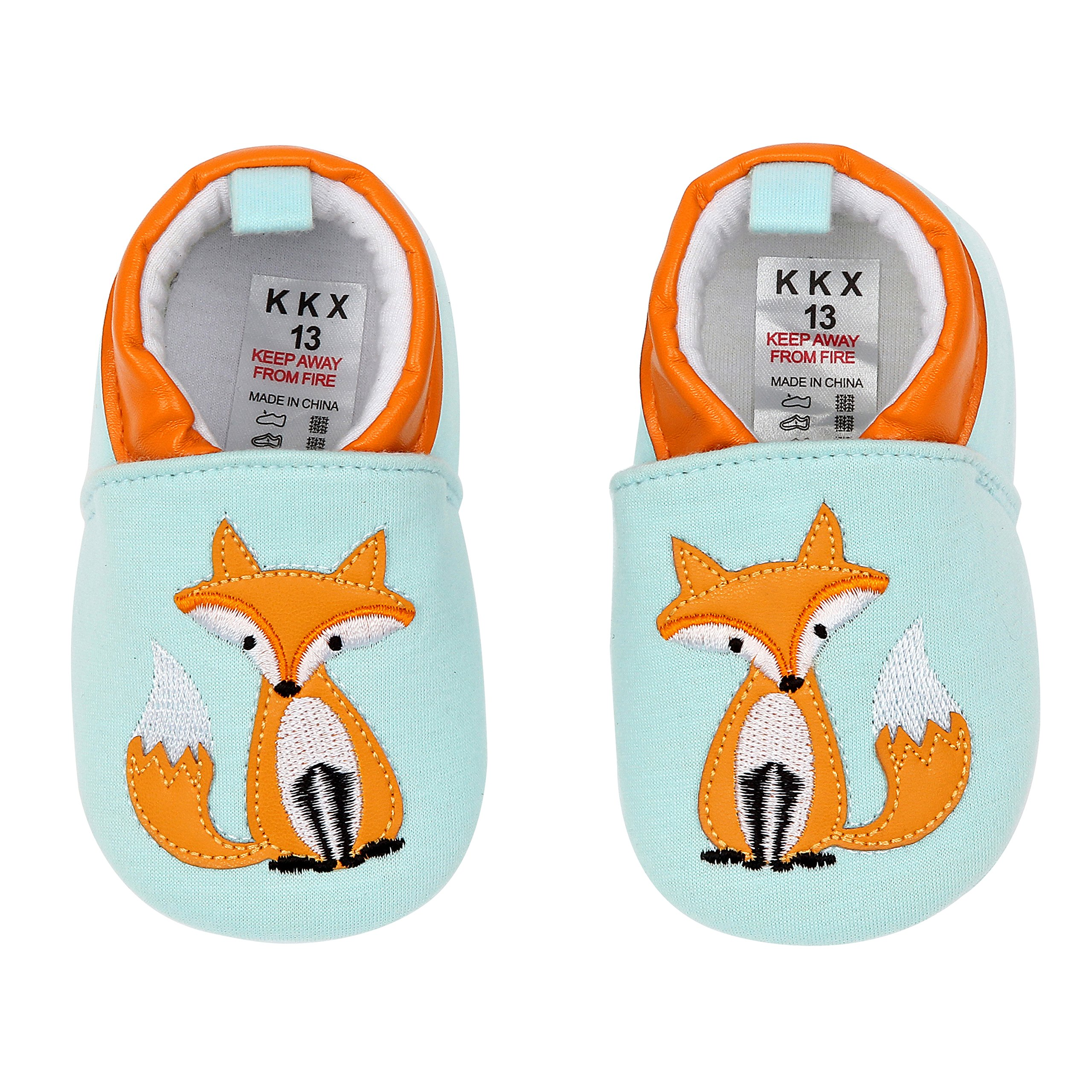 fe1560713d2 Get Quotations · First Walker Cotton Cloth Baby Shoes Prewalker For Girl  And Boy 6-9 Months