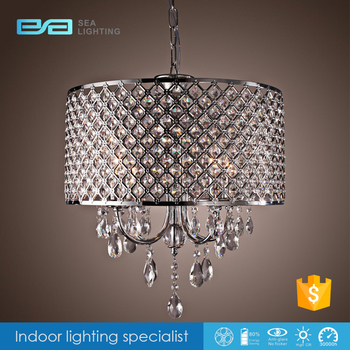Chandelier Bobeche Iron Craft Crystal Round Pp Pendant
