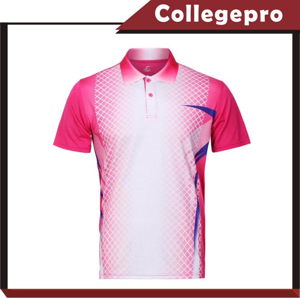 Tennis polo shirt/polo T-shirt/sublimated polo shirt