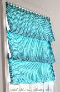 Diy Faux Relaxed Roman Shade Window Blinds Buy