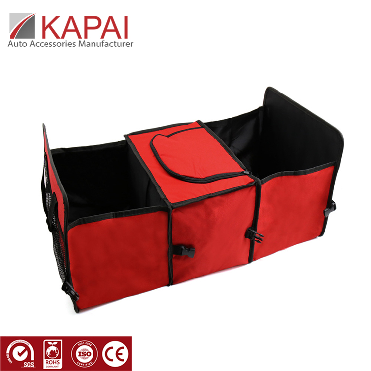 2 in 1 Trunk Organizer & Kühler-Set