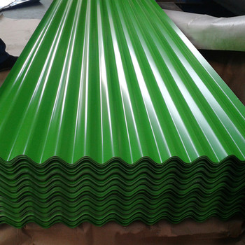 Colorful Metal Roofing Plate/PPGI corrugated Steel Roofing Sheet