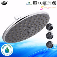 8 inch round rain shower head stainless steel shampoo shower head music shower head