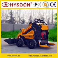 made in China stand-on style mini skid steers for garden farm