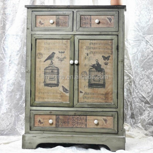 Vintage shabby chic muebles de dormitorio buy product on for Muebles shabby