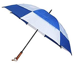 Conch Umbrellas 7862Blue 60 in. Jumbo Golf Double Canopy Windproof Umbrella