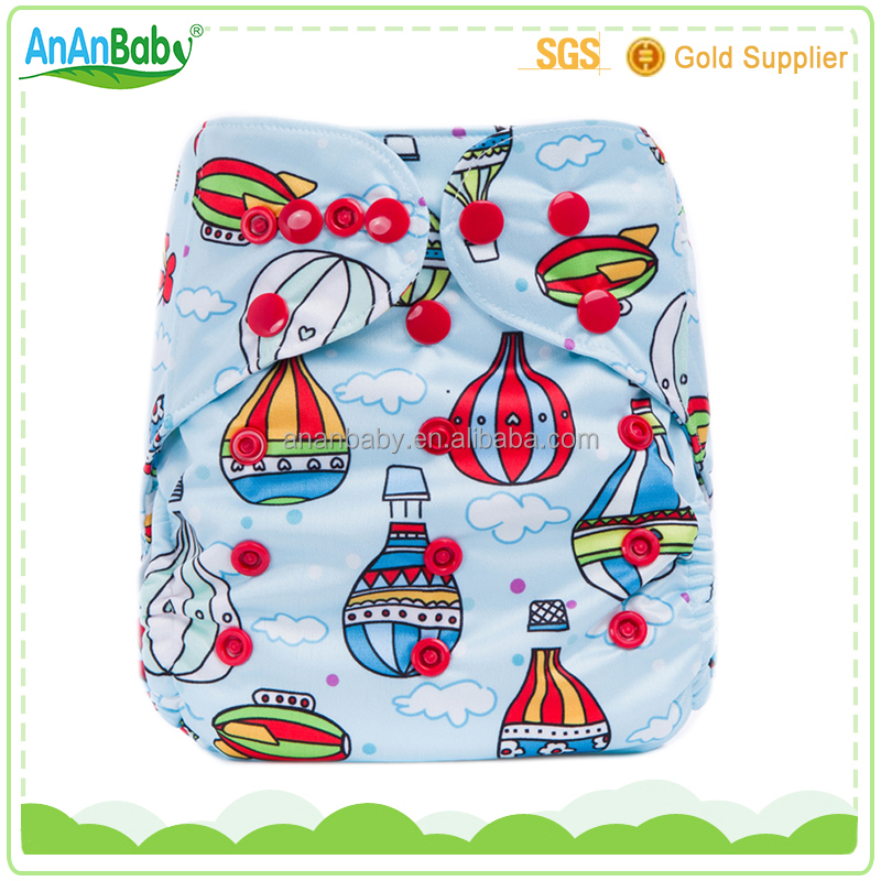 2016 Double Gussets Pul Cloth Diapers Cover Free Shipping