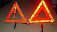 reflecting warning triangle