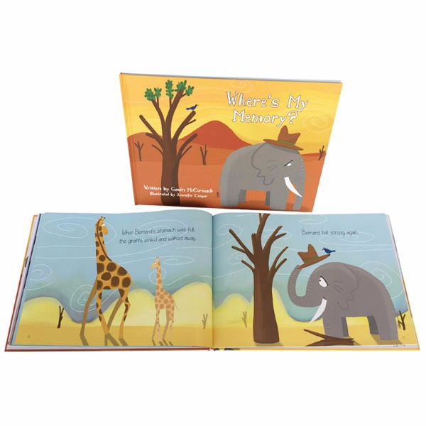Custom Baby Story Books First Year Memory Book Printing