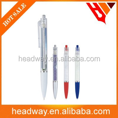 2015 ad promotion high quality office plastic ball pen