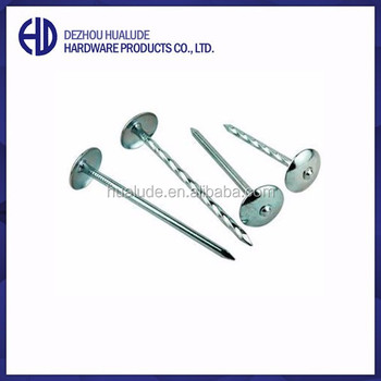 Twisted Shank Galvanized Umbrella Head Roofing Nails Buy