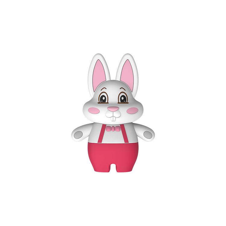Custom Shape Spearke High Quality Cartoon Rabbit Shape Rohs Music Bluetooths Speaker