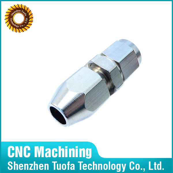 Precision custom CNC turning machined stainles steel round nuts