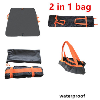 2017 Hot Amazon Waterproof Folding Compact Tote Bag camping Picnic Mat Beach Blanket Miscato