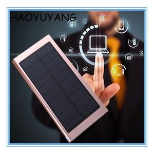 ABS Flashlight Solar 10000mAh Power Bank' Colorful Free Sample