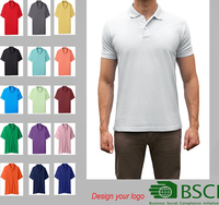 custom 100% cotton mens polo shirt hot fashion printing , sublimation mens polo shirt