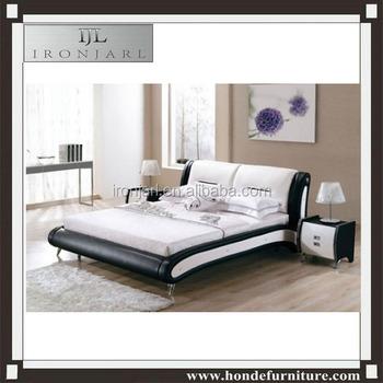european bed frame luxury modern king size platform leather bed - European Bed Frame