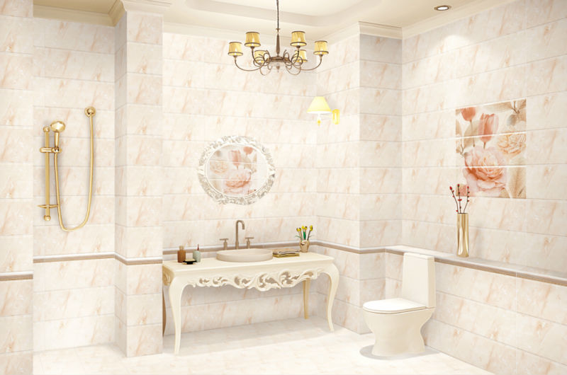 3D ceramic wall picture hand painted faux brick interior walls tile