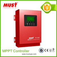MUST high efficency mppt solar charge controller 60A 12 24 48 volt