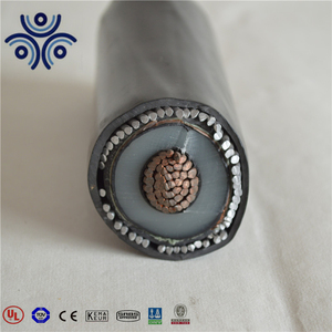 25KV Single core 70mm2 copper wire armoured aluminum power cable
