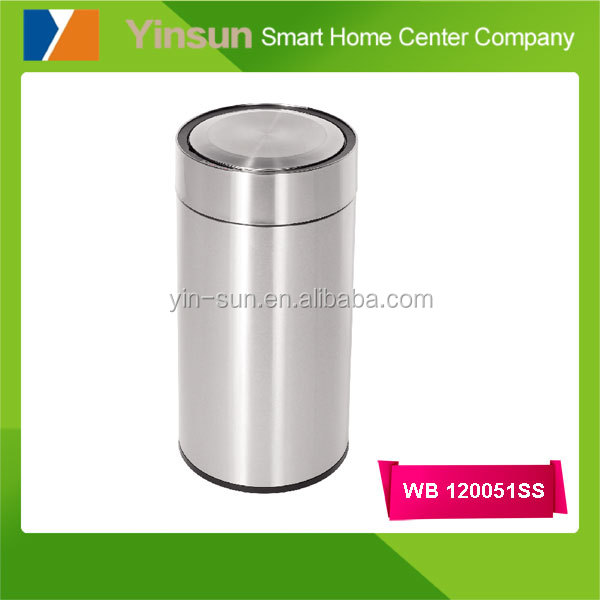 2017 New design 30L touchless stainless steel sensor garbage bin