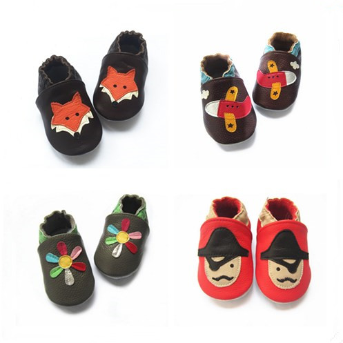 Baby genuine leather shoes wholesale kids casual shoes comfortable baby footwear