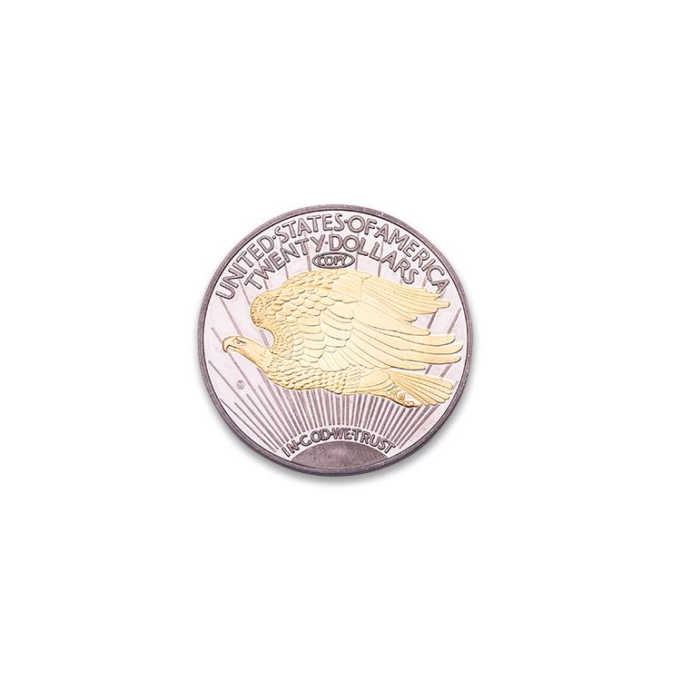 Özel üretici toptan Metal rus yuvarlak şekilli altın hatıra sikke