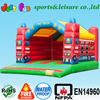 large inflatable fire truck bouncer bouncy castle factory direct sale