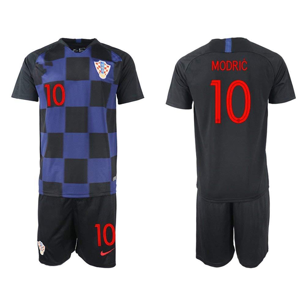 1a649f31935 Get Quotations · FASjey 2018/19 New Croatia Modric Away Men's Soccer Jersey