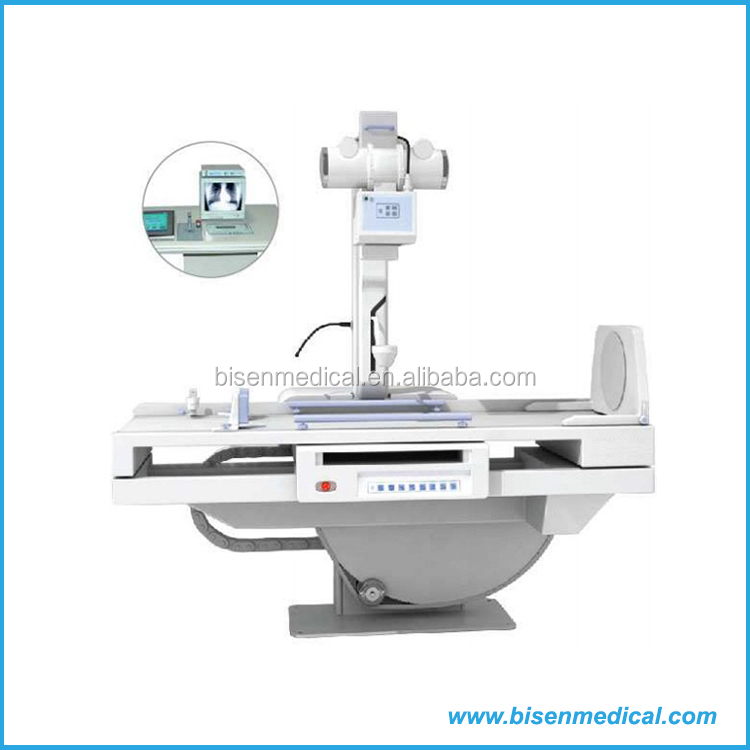 Low Price Floor Type Universal X Ray Machine With 14 Inch Medical High  Definition