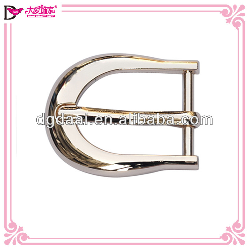 Bling plated belt buckle metal mini small belt buckle