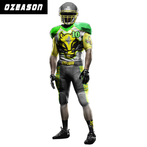 stretch fit quick dry wholesale custom american football jersey and pants