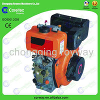 5% Discount Wholesale Recoil/electric Start Air Cooled 4 Stroke Single Cylinder 14HP Diesel Engine