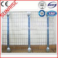customized powder coated grid storage wire mesh decking panel